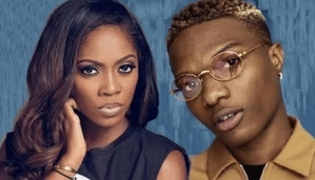 Why Wizkid's Fans Are Mocking Tiwa Savage On Twitter (Photos)